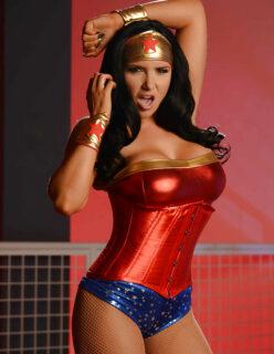 Mulher Maravilha Cosplay Fotos Pelada
